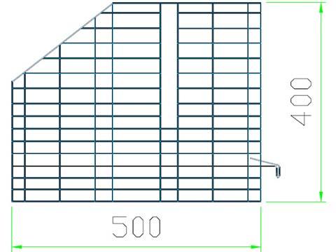 Разделительной стенки сетки