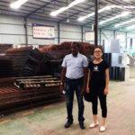 Клиент из Шри-Ланки посетил наш завод